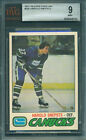 1977 78 OPC #295 HAROLD SNEPSTS BGS BVG 9 MINT!! CANUCKS
