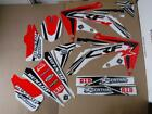 FLU DESIGNS PTS3  PRO TEAM SERIES  GRAPHICS  HONDA CRF450X  CRFX   #11111