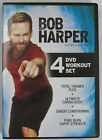 Bob Harper 4 dvd Workout Set includes Total Trainer Plus rare Strength Cardio