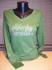 Harley Davidson Womens Pristine Bling Wings Green TShirt SMLXL2XL