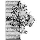 STAMPENDOUS Cling Rubber Stamp Tree Poem Image
