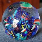 WONDERFUL LARGE MURANO ART GLASS FISH OCEAN AQUARIUM PAPERWEIGHT