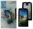 LifeProof Nuud Waterproof Case for Samsung GALAXY S4 Black Clear 1801 01