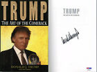 President Donald Trump SIGNED The Art of the Comeback LETTER PSA DNA AUTOGRAPHED