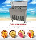 brand new fried ice cream machine with 5 boxes double pans working independently