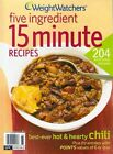 Weight Watchers Five ingredient 15 minute Recipes POINTS magazine style Cookbook