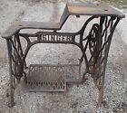 Antique Cast Iron Treadle Stand Base for 29-4 Singer Sewing Machine Cobbler