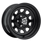4 NEW Vision 84 D Window 16x8 6x1397 6x55 12mm Gloss Black Wheels Rims