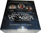 2012 Quotable Star Trek Voyager Factory Sealed Trading Card Box w 3 Autograph