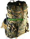 US Military USMC DIGITAL MARPAT ILBE MAIN PACK BACKPACK w Belt, Radio Pouch VGC