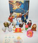 Disney Beauty and the Beast Movie Figure Set of 14 with Gem Ring and Tattoo