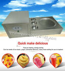 35cm pan fried ice cream machine fried ice cream roll maker with 3 boxes