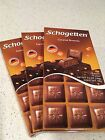 SCHOGETTEN Chocolate Bars Caramel Brownie, 18 pieces Net 3.5 oz (100g) pack of 3