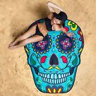 GIANT 5 FT SUGAR SKULL Beach Pool Shower Towel Blanket BigMouth Inc