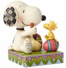 Jim Shore Peanuts A Colorful Tradition Snoopy Woodstock Easter Figurine 4055653