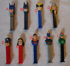 Loose PEZ DC / Marvel Super heroes Justice League Pick & Choose w/ Combined Ship