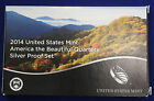 2014 s SILVER US Mint made America the Beautiful QUARTERS proof Set