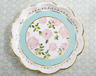 Set of 24 Tea Time Whimsy Paper Plates Bridal Shower Tea Party Decorations