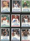 2005-2007 WNBA: 50 Different Certified Autograph Cards Cooper-Augustus!