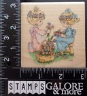STAMPENDOUS USED RUBBER STAMPS PRECIOUS MOMENTS UQ002 FRIENDSHIP BLOOMS