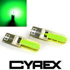 2 CYREX GREEN REPLACEMENT UPGRADE LED LIGHT BULBS FOR INTERIOR EXTERIOR AUTO B3