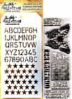Perspective Clear Acrylic Stamp  Stencil Set by Tim Holtz Stampers Anonymous