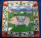 Jim Shore Designs 'Barnyard' Country Scene Ceramic Platter - 13