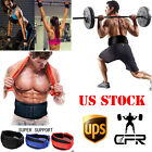 Power Weight Lifting Belts Heavy Duty Gym Fitness Training Belt Lumbar Support