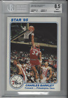 1985 STAR TEAM SUPERS 5 X 7 # PS8 CHARLES BARKLEY BGS 8.5 NM-MT+