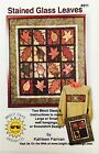 Quilt Pattern Stained Glass Leaves Wall Hangings NIP Bright Ideas Design 2000