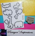 NEW BABY ZOO Dies By Dave Framelits made for ZOO BABIES and Stampin Up Bonus