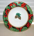 FITZ & FLOYD HOLIDAY PINE SOUP/CEREAL BOWLS) - MINT/NEW