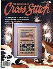 FOR THE LOVE OF CROSS STITCH JULY 1989 ~ STARS AND STRIPES FOREVER SUSAN WINGET