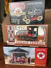 TEXACO Die Cast Lot 1919 GMC Tanker Truck/1910 Mack Tanker/1918 Ford Runabout