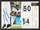 2011 National Treasures NFL Gear Dual ID Tag Patch Auto #34 Torrey Smith 04 20