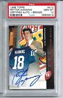 1998 Topps Autographs #A10 Peyton Manning Rookie Card Auto PSA 10 Autographed