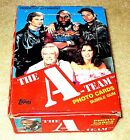 1983 THE A-TEAM FULL 36 COUNT BOX EX CONDITION NO X OUT CLEAN W NICE PACKS!
