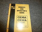 Hyster C830A C832A Compactor Roller Owner Owner's Operator Manual User Guide