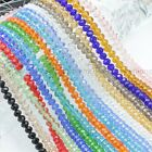 Wholesale Czech Faceted Rondelle Crystal Loose Beads 4MM 6MM 8MM 10MM