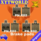 FRONT REAR Brake Pads for BENELLI 654 Sport 1983