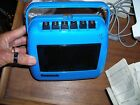Panasonic Take-n-Tape Tape Recorder RQ-711S / 70's Space Age Design BLUE
