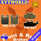 FRONT REAR Brake Pads for BETA RR Enduro Alu 50 Motard Alu 50 2004-2007 2008