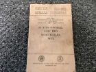 1955 War Department M172 Low Bed Semitrailer Owner Service Repair Manual