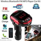 Kabellos Bluetooth LCD FM Transmitter Händefrei Modulator USB Auto Kit MP3 plaer