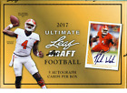 2017 LEAF ULTIMATE HOBBY FOOTBALL BOX BUY 2 OR MORE SAVE $5