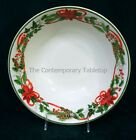 NEW! 222 Fifth China Christmas HOLIDAY FESTIVITIES Round Serving Bowl 10-1/4