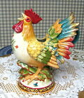 FITZ & FLOYD ROOSTER PITCHER GLOBAL MARKET MIB SALE!!