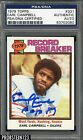 1979 Topps #331 Earl Campbell RC Rookie HOF Signed AUTO PSA DNA AUTHENTIC