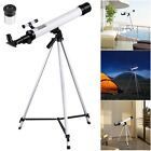 600 50mm Astronomical Refractor Telescope Refractive Eyepieces Tripod Beginners