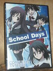 School Days The Complete Series DVD 2014 2 Disc Set